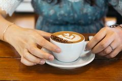 咖啡会议 图库摄影