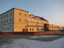 Åpilberk在布尔诺,一座历史的城堡 免版税库存图片