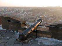 从Å pilberk的城市视图 免版税库存照片
