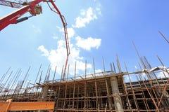 åder för byggnadskonstruktionslokal Arkivbild