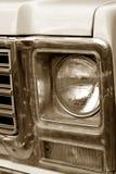 Åka lastbil grillar Arkivfoto
