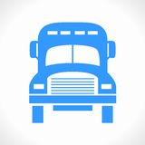 Åka lastbil logoen (symbolen) Arkivfoton