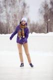Åka skridskor Royaltyfria Bilder