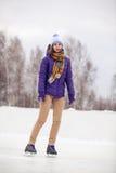 Åka skridskor Royaltyfri Fotografi