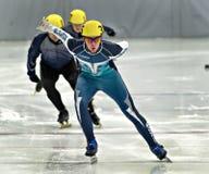 Åka skridskor för hastighet Royaltyfria Foton