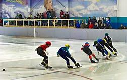 Åka skridskor för hastighet Royaltyfri Foto