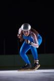 Åka skridskor för hastighet Royaltyfri Bild