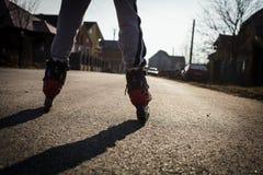 Åka skridskor för rulle Royaltyfri Foto