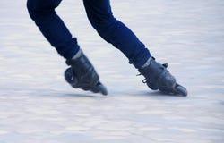 Åka skridskor för rulle Fotografering för Bildbyråer