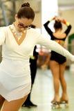 Åka skridskor konkurrens Royaltyfria Bilder