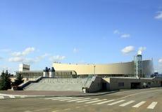 Åka skridskor mitten av den moderna designen Royaltyfri Foto