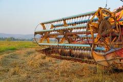 Åkerbruk maskin. Fotografering för Bildbyråer