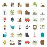 Åkerbruk symbol stock illustrationer