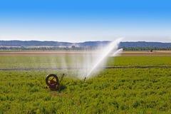 Åkerbruk vattensprej fotografering för bildbyråer
