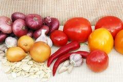 åkerbruka produktgrönsaker för ny marknad Arkivbilder
