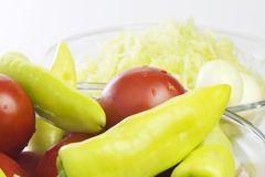 åkerbruka produktgrönsaker för ny marknad Arkivfoto