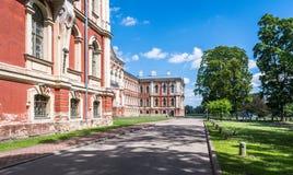 Åkerbrukt universitet i Jelgava, Lettland royaltyfri foto