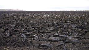 Åkermark odling Arkivbild