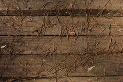 Åldrades gamla träbräden för bakgrund i solen fotografering för bildbyråer