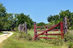 åldras lantgård fotografering för bildbyråer