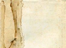 åldras papper Arkivbild