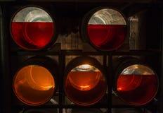 Åldras whisky med den olika färger och ängelaktien, Dublin, Ir Arkivbilder