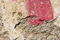 Åldrig grå betontextur abstrakt bakgrund gammal texturvägg Arkivbilder