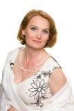 åldrig härlig medelkvinna fotografering för bildbyråer