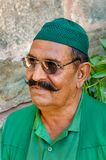 Åldrig indisk muslimman för mitt på Kumbhalgarh arkivfoton