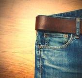 Åldrig jeans Royaltyfria Bilder
