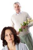 åldrig kvinnligmitt Royaltyfria Bilder