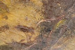 Åldrig målarfärg på för metallyttersida för grunge smutsig backgr för textur för abstrakt begrepp Royaltyfri Fotografi
