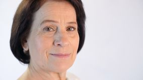 åldrig medelståendekvinna lager videofilmer