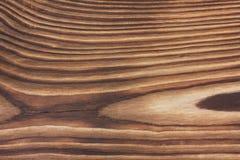 Åldrig naturlig brun wood textur Fotografering för Bildbyråer