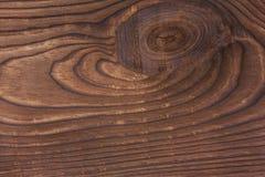 Åldrig naturlig brun wood textur Arkivbild