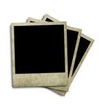 åldrig polaroid royaltyfri bild