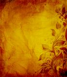 åldrig texturerad grungeaffisch Royaltyfri Bild