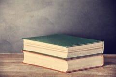 Åldriga böcker Royaltyfri Fotografi