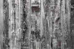 Åldriga spruckna träväggpaneler textur, bakgrund Royaltyfria Bilder