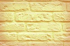 Åldriga tegelstenar för guling Royaltyfria Foton