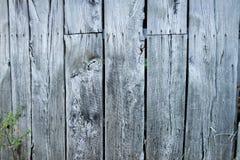 Åldriga träplankor för brunn - vägg Royaltyfria Bilder