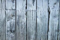 Åldriga träplankor för brunn - vägg Royaltyfria Foton