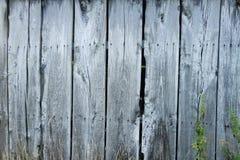 Åldriga träplankor för brunn - vägg Arkivfoton