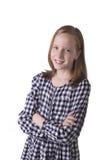 Åldrigt barn för gullig skola royaltyfri foto