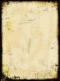 åldrigt bränt papper royaltyfri fotografi