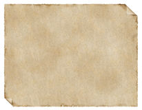 åldrigt papper Royaltyfri Fotografi