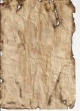 åldrigt papper Arkivbild