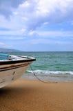 åldrigt strandfartyg Royaltyfria Foton