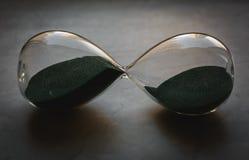 Åldrigt timglas Fotografering för Bildbyråer