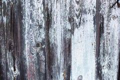 Åldrigt trä målad textur fotografering för bildbyråer